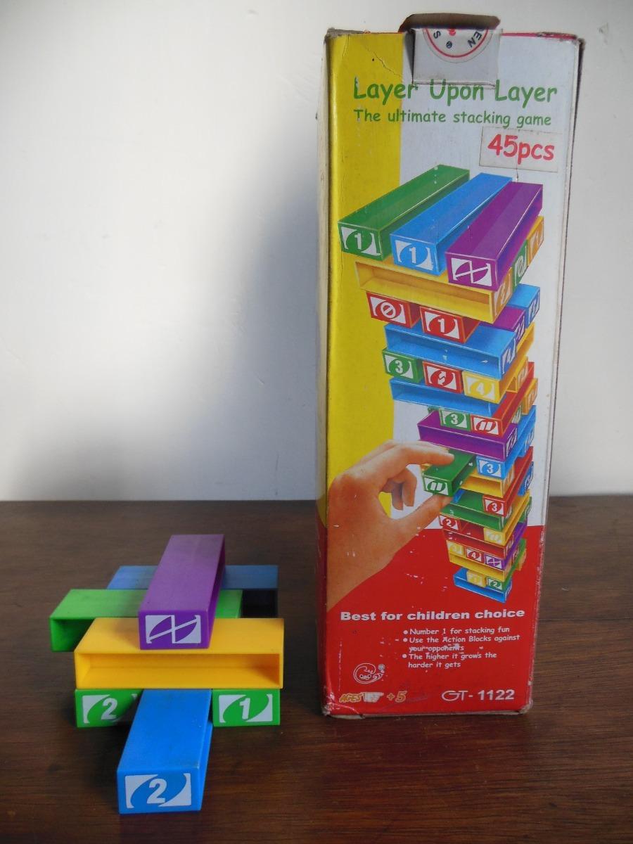 5f2ff47abbcf juego didactico layer upon layer - 45 piezas. Cargando zoom.