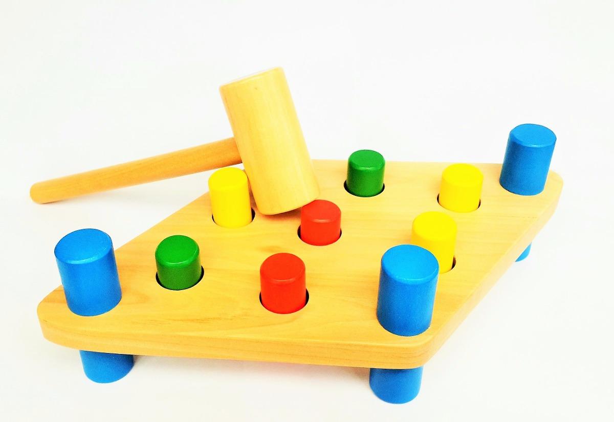 666232c46cdd4 juego didáctico madera encajable martillo 7388 madera 58979. Cargando zoom.