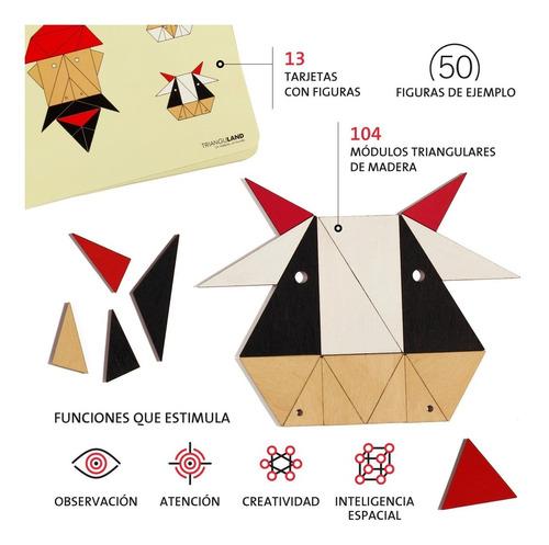 juego didactico madera tipo puzzle libre baum