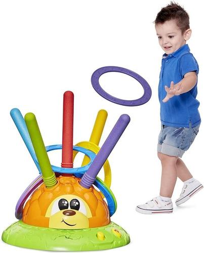 juego didactico  niños  lanza anillos chicco mr. ring