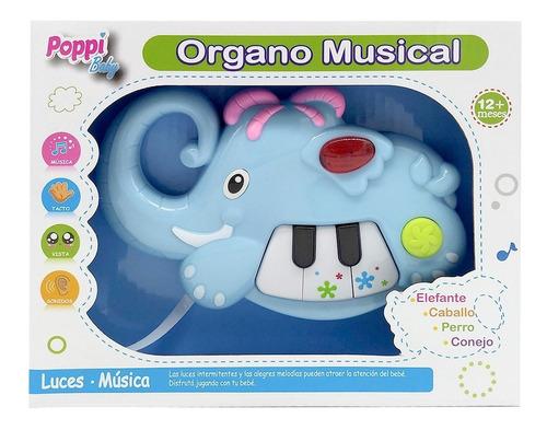 juego didactico piano elefante con luz primera infancia