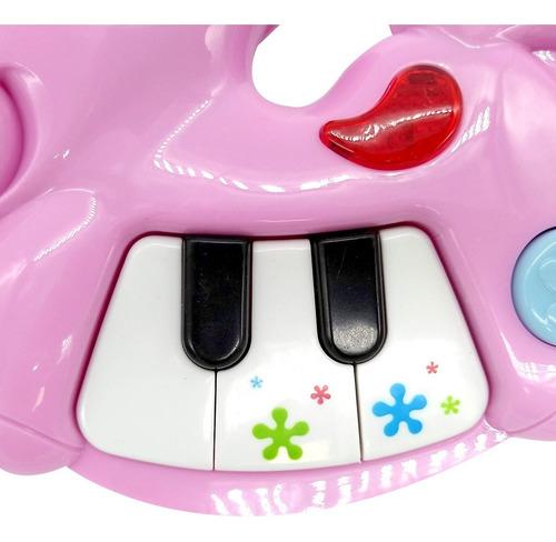 juego didactico poppi piano caballo con luz primera infancia