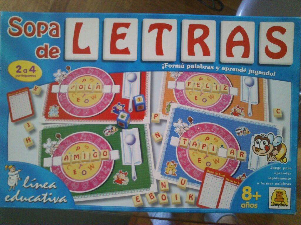 Juego Didactico Sopa De Letras 175 00 En Mercado Libre
