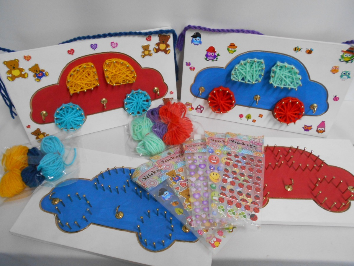 Manualidades Infantiles.Juego Didactico Tablita String Art Manualidades Infantiles 270