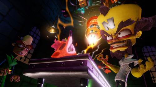 juego digital crash bandicoot n. sane trilogy ps4 entrega yá