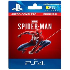 Juego Digital Marvels Spiderman Ps4 Principal Oferta
