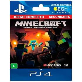 Juego Digital Minecraft Ps4 Secundaria Oferta