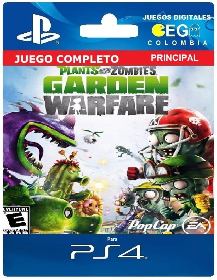 Juego Digital Plants Vs Zombies Garden Warfare Ps4 59 990 En