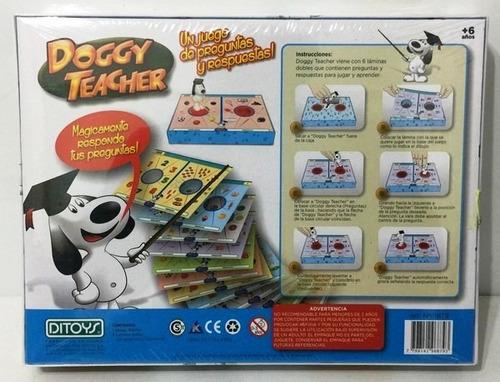 juego doggy teacher responde tu pregunta ditoys 1879 bigshop