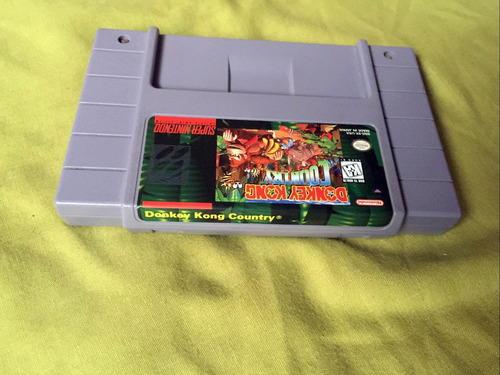 juego donkey kong country nes snes