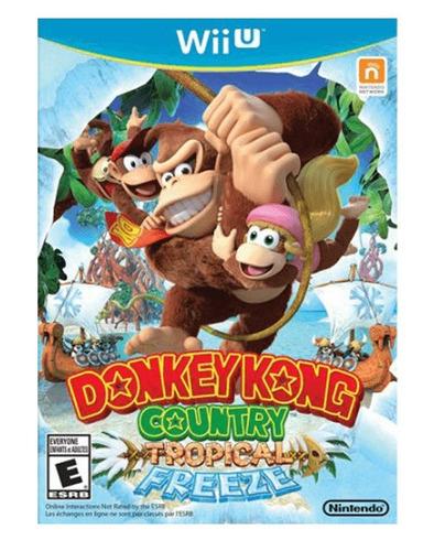 juego donkey kong country wiiu nuevo sellado
