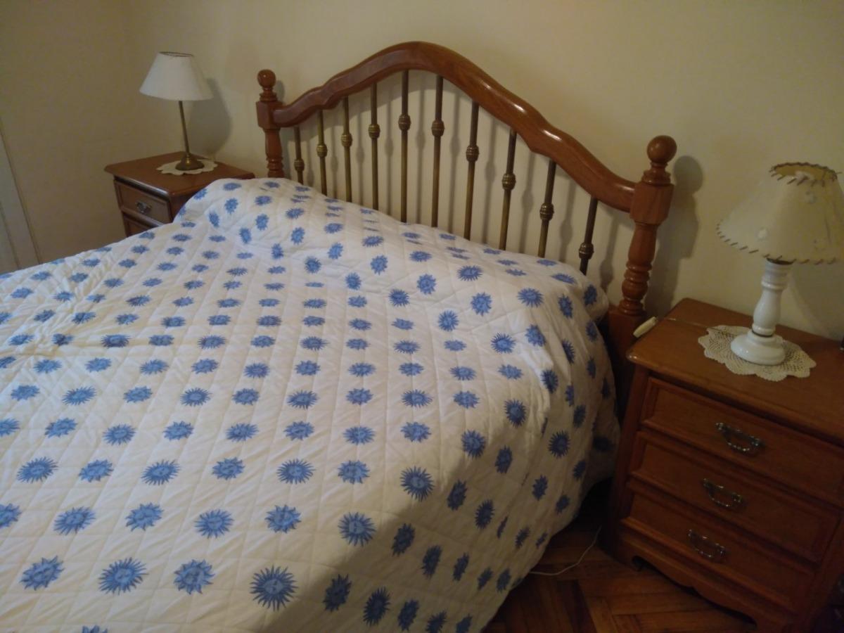 Juego Dormitorio Colonial Ingles Roble Macizo - $ 29.000,00 en ...