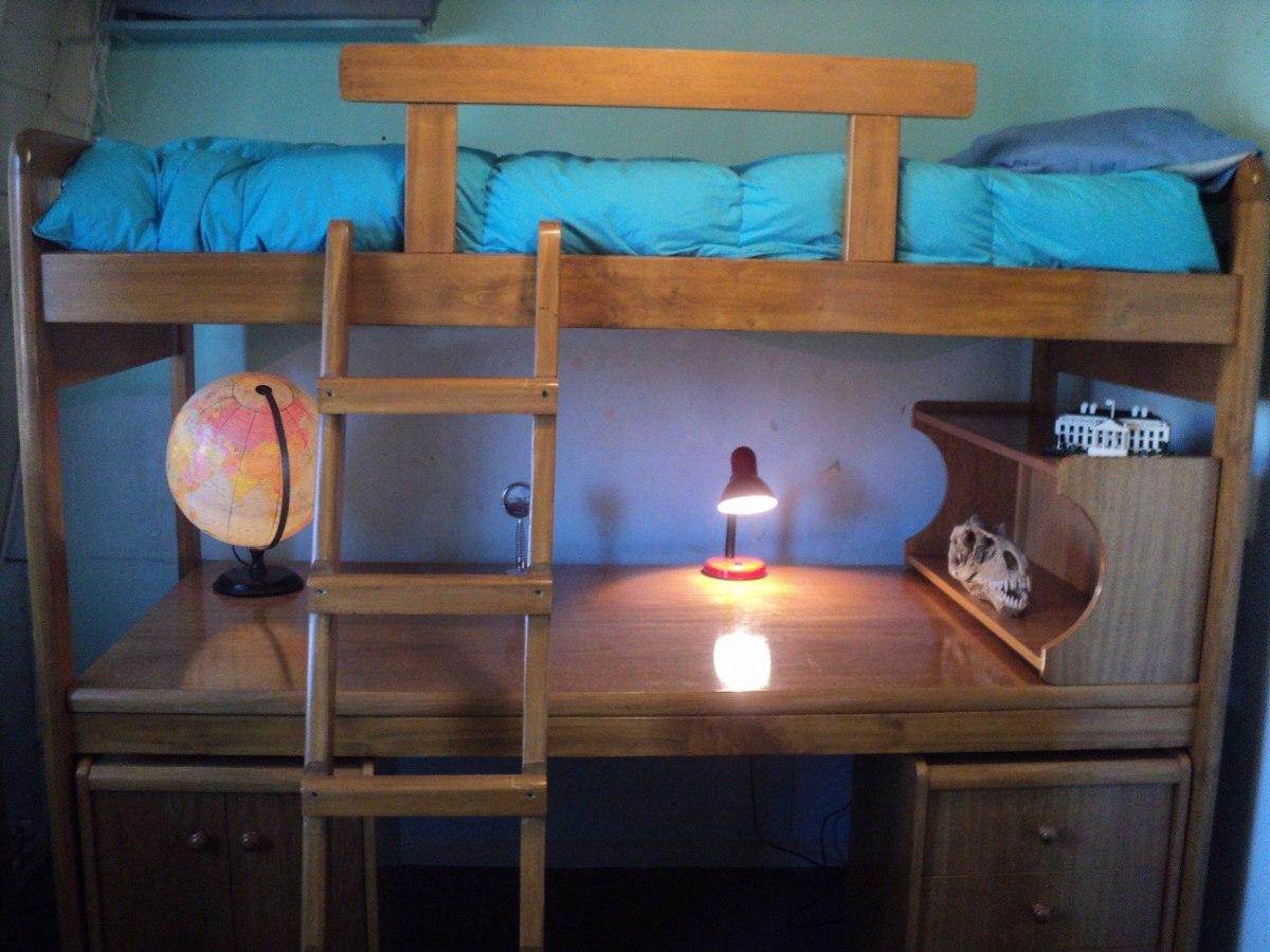 juego dormitorio juvenil camas escritorio mas cajonera y mas