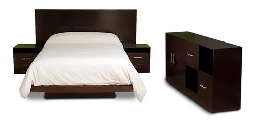 juego dormitorio, respaldo,cómoda,2mesas de luz * tope hogar