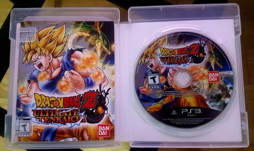juego dragon ball z ultimate tenkaichi - ps3