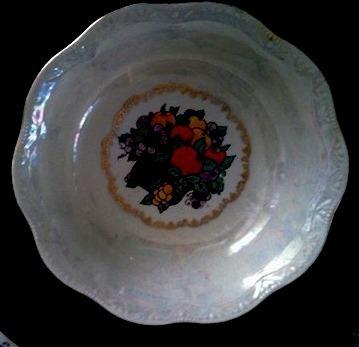 juego dulcera o ensaladera de porcelana 9 piezas