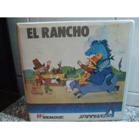Juego El Rancho Idealogic Spinnaker 1984 Commodore Spectrum