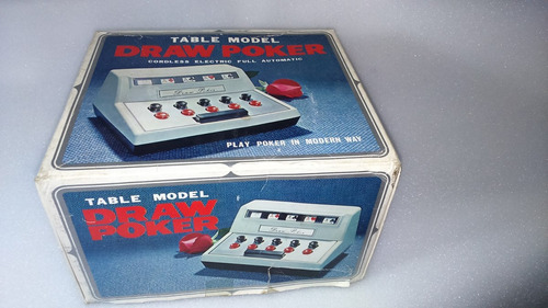 juego electrico de poker made in japan impecable!!!
