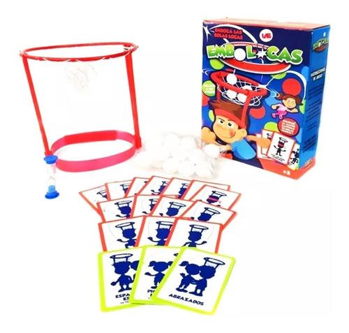 juego embolocas en caja emboca las bolas desafio y habilidad