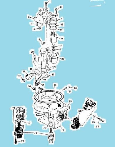 juego empacaduras carburador blazer c10 87 al 91