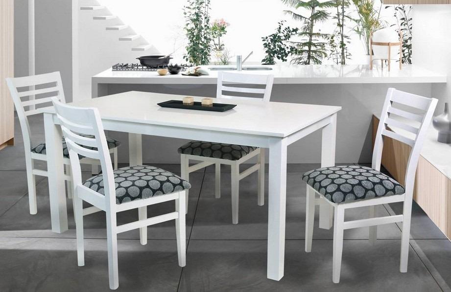 Tapizado de sillas de comedor ikayaa unids tapizado con for Sillas blancas tapizadas