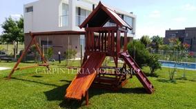 Juego En Madera Para Niños - Ideal Para Exterior Y Jardines