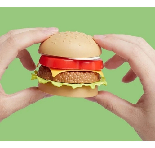 juego encastre hamburguesa papas combo didáctico cocina