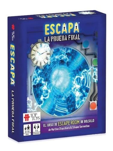 juego escapa escape room destino londres o prueba final