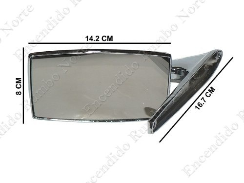 juego espejo exterior cromado metálico ford falcon taunus or