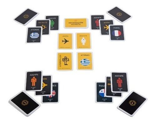 juego espionaje - las cartas jugueteria pizzico (1194)