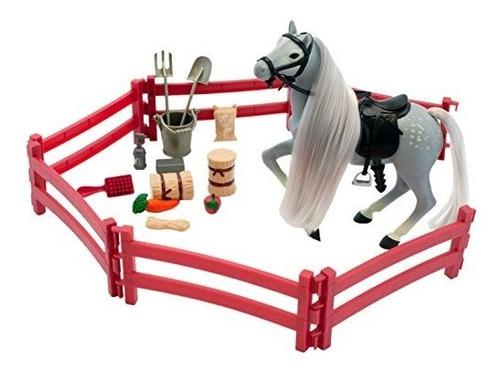juego estable de corral lanard horse corral