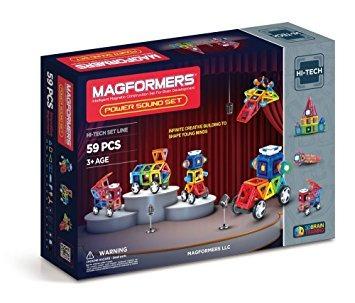 juego establecer sonido magformers exclusiva del amazonas d