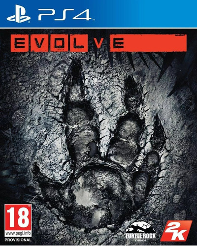 juego evolve ps4 juego blu-ray original físico sellado