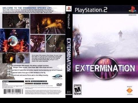 juego extermination / ps2