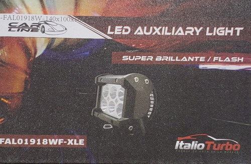 juego faros 6 led dually flash- fijo