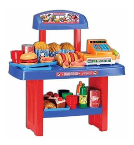 juego fast food petit gourmet y caja registradora lionels