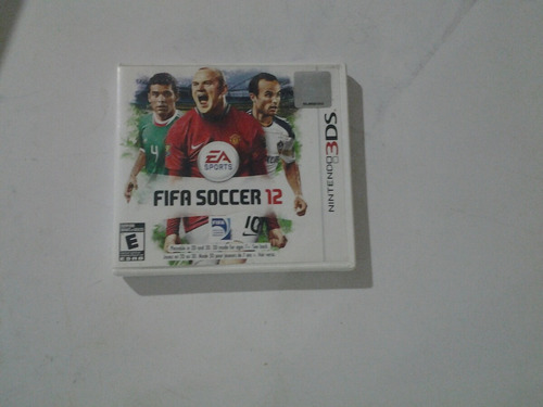 juego fifa 12 ds 3d