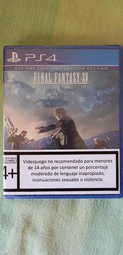 juego final fantasy xv ps4