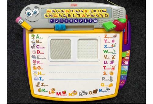 juego fisher price para aprender letras y números jugando