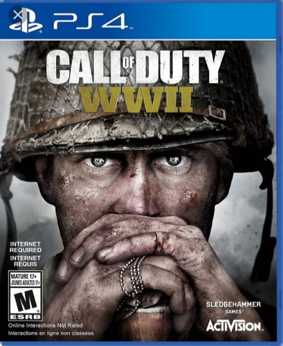 juego fisico call of duty ww2 ps4