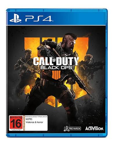 juego fisico cod call of duty black ops 4 sony ps4 cuotas