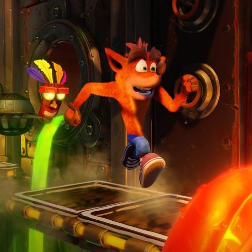 juego fisico crash bandicoot n sane trilogy sony ps4 oficial