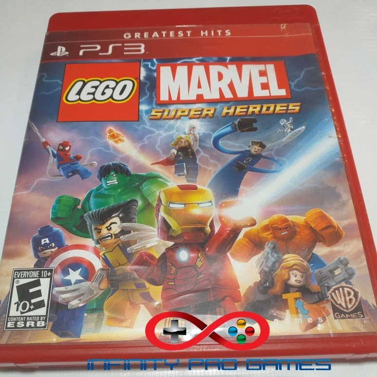 Juego Fisico Lego Marvel En Espanol Para Ps3 Garantia Bs 45 000