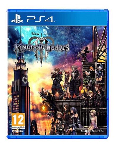 juego fisico original kingdom hearts 3 iii sony ps4 cuotas