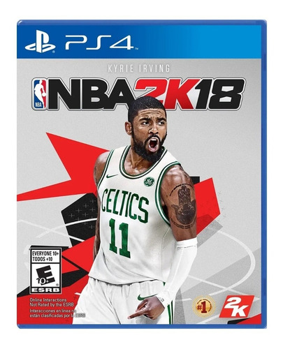 juego fisico original nba 2k18 sony playstation ps4 oficial