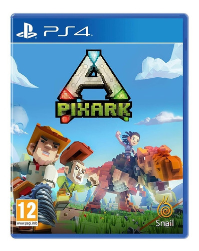 juego fisico original pixark sony playstation ps4 oficial