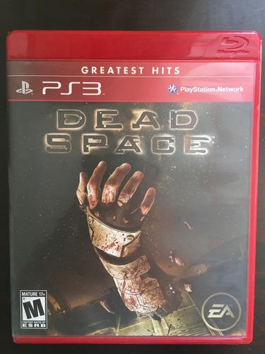 juego físico ps3 / playstation 3 - dead space - envió gratis