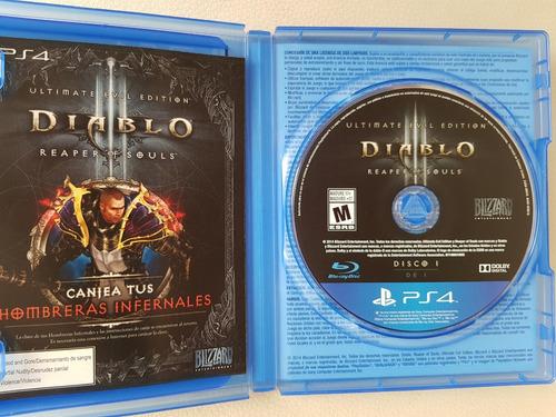 juego fisico ps4 diablo iii. ultimate evil edition