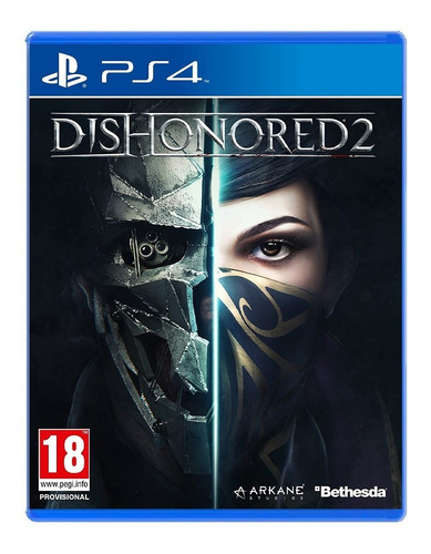 juego fisico sellado dishonored 2 sony playstation ps4 cuota