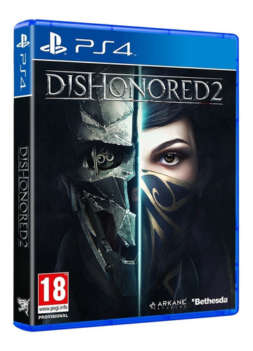 juego fisico sellado dishonored 2 sony playstation ps4 nuevo